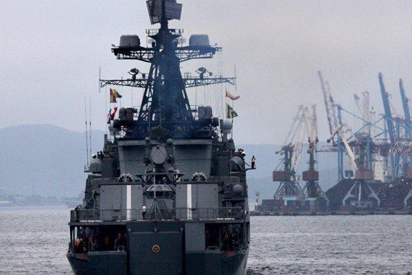 مانور دریایی مشترک روسیه و ژاپن در خلیج عدن شروع شد