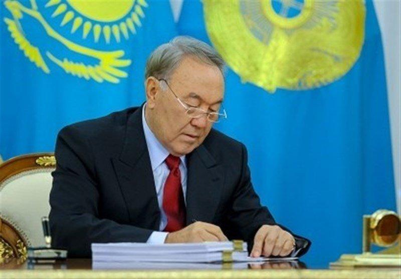 رئیس جمهور قزاقستان استعفا کرد